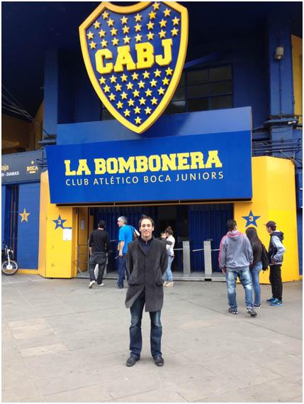 Estadio de Fútbol La Bombonera