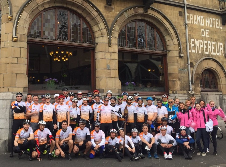 CYCLE FOR SCIENCE: AMSTERDAM-BARCELONA