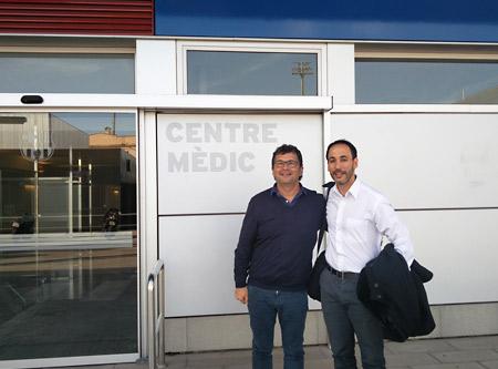 Dr. Iglesias y Dr. Pruna - CIUDAD DEPORTIVA JOAN GAMPER, FC BARCELONA