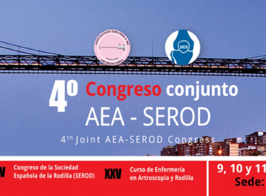 Congreso nacional de artroscopia y rodilla AEA-SEROD